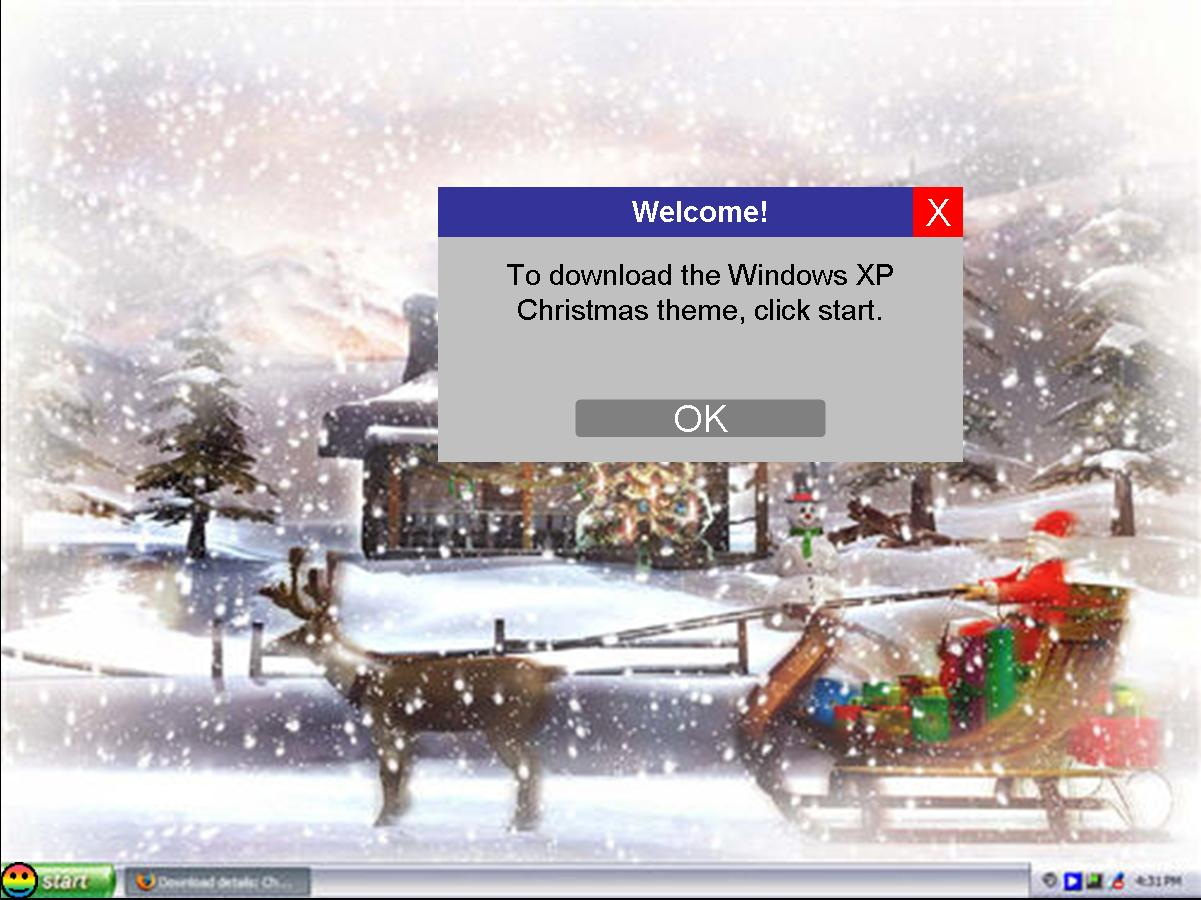 Windows XP Christmas Theme